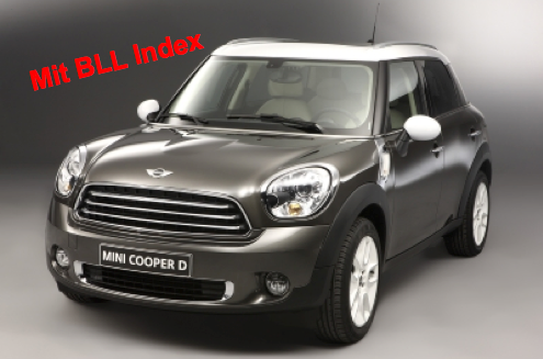 """x1  MINI Countryman """"for ever young"""""""
