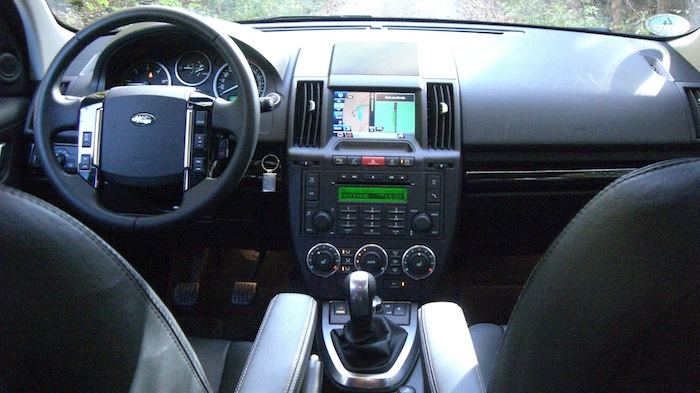 freel display Der Freelander 2,2 im Test