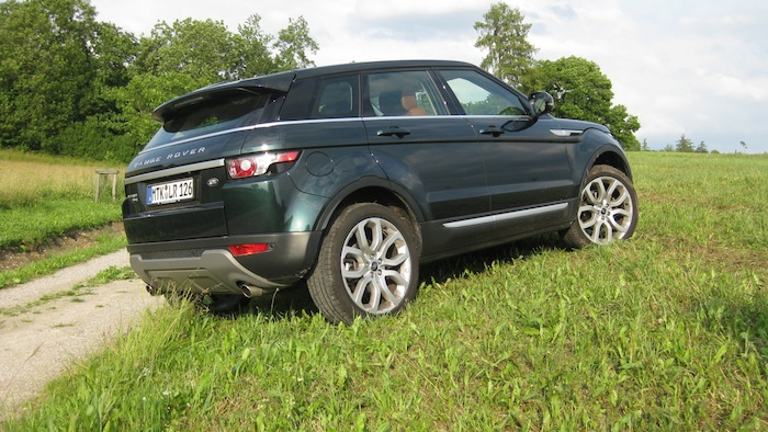 evogue berg Der Range Rover Evoque im Test
