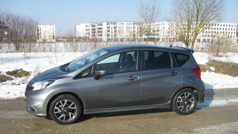 note 2  Nissan Note 1.2 DIG S im Test
