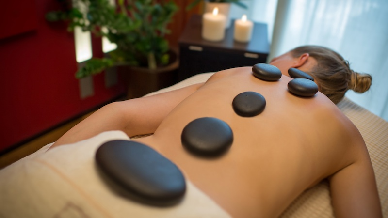 Hotel Terme Antoniano Hot Stone Massage Thermalbaden in den Euganeischen Hügeln